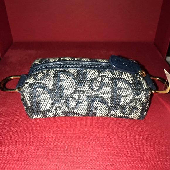 Dior coin case with ring hook $firm price